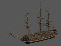 HMS Surprise inspired English Ship
