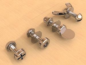 3dsmax nuts bolts