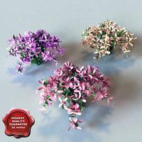 Hi-poly Bush&Flowers V2