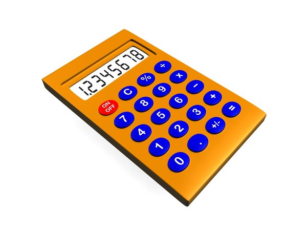pocket calculator c4d