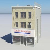 city building store - 3d max