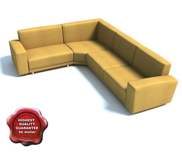 3d model sofa hale big