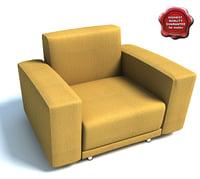 3d sofa hale small