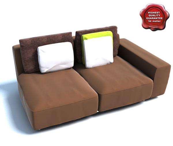 3d sofa rest model