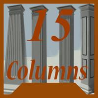 3d decorative columns