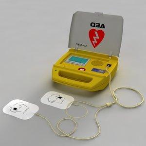 3dsmax defibrillator aed