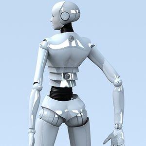 robot annadroid c4d