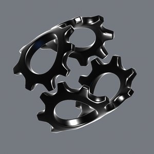 3ds max loop turning wheel