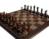 Chess Board.blend