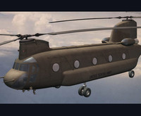 CH-47 chinook helicopter