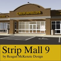 shop architectural 3ds