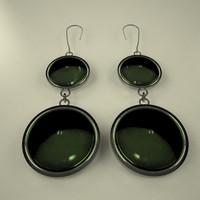 earings ring 3d model