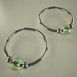 3d model of earings ring