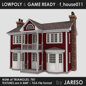 3ds house - f house011