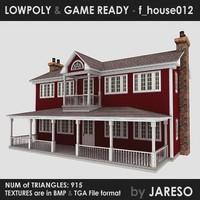 3d model house - f house012