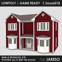3d house - f house018