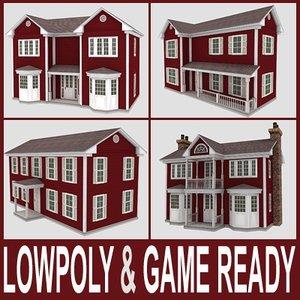 3d 4 houses f vol 1