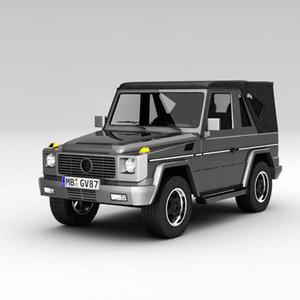 3ds max g wagon
