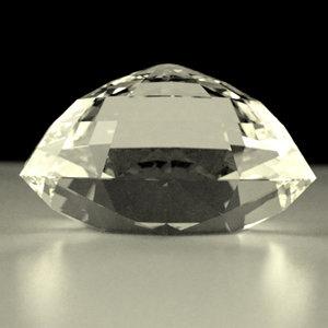 3d gemstone cut