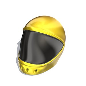 motorcycle helmet 3d model