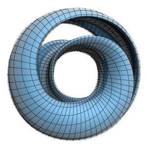 3d model mobius ring