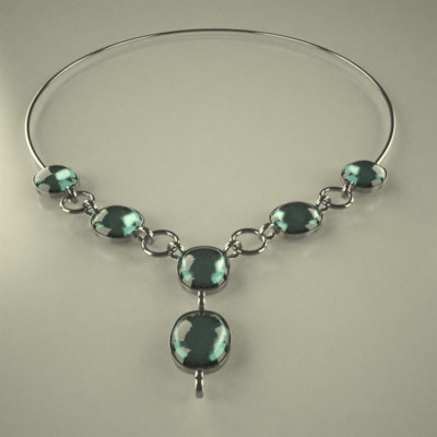 neck necklace xsi