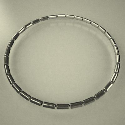 3d dxf neck necklace