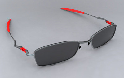 obj wireframed sunglasses oakley o