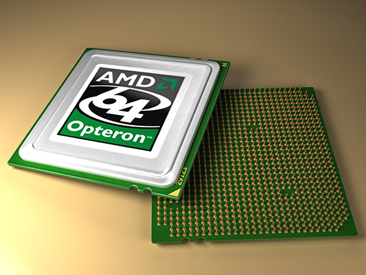 amd opteron processors 3d max