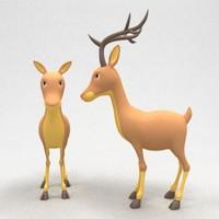 deer 3d max