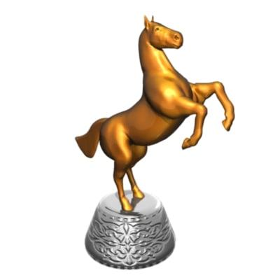 statuette horse ma