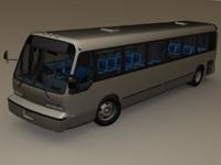 3d gmc rts bus model