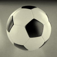 soccerball ball soccer 3d 3ds