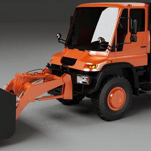 3d u500 loader model