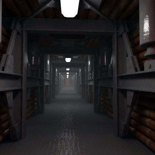 vault tunnel 3d model