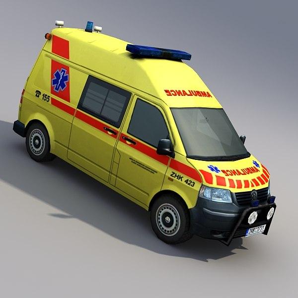 ambulance van max
