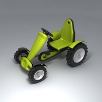 3d carting tractor car