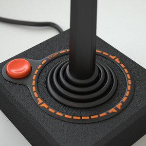 3d atari 2600 controller