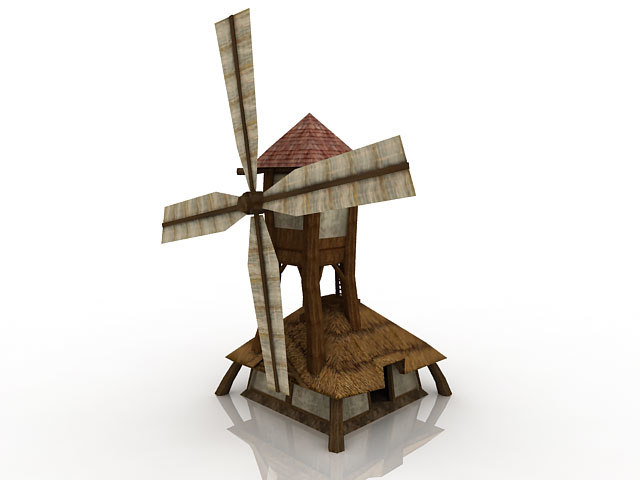 3d model windmill games