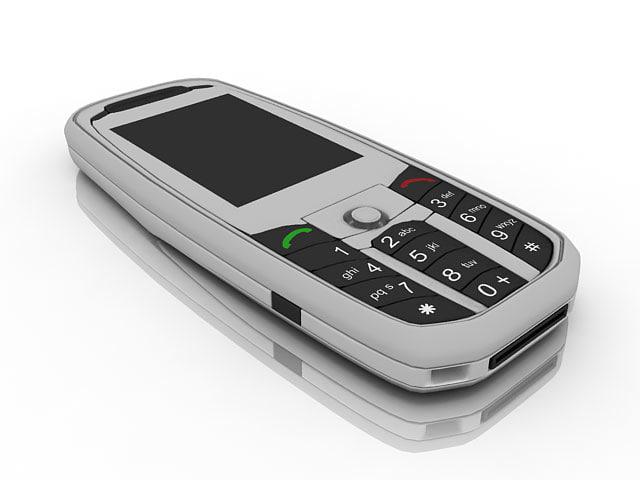 3d cellular phone