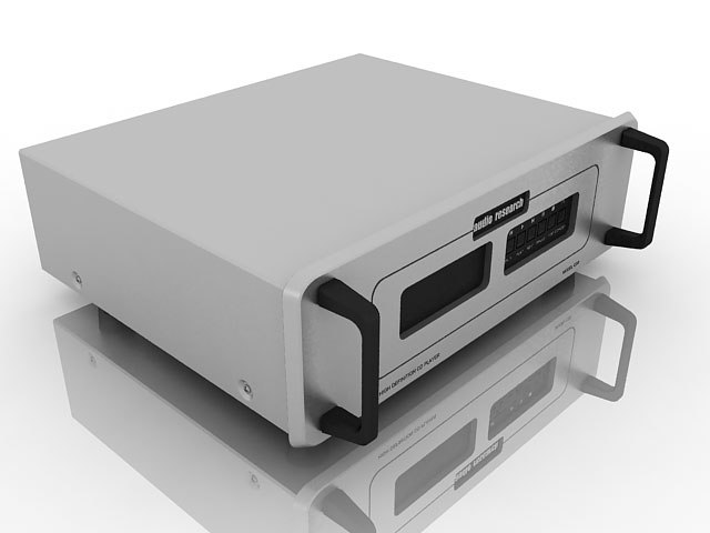 3d model research cd player