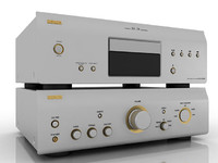 3d cd player model