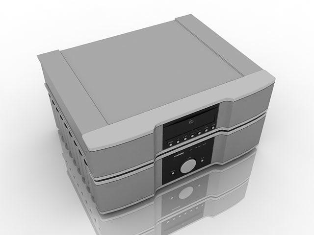 3ds max xiandak cd player