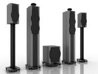 3ds speaker set