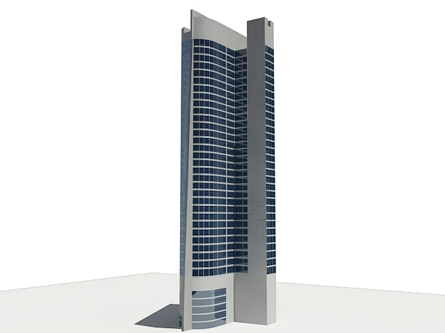 concept skyscraper c4d