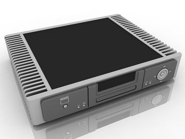 nad cd player 3d model