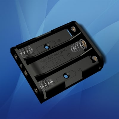 lightwave 3 aa battery holder