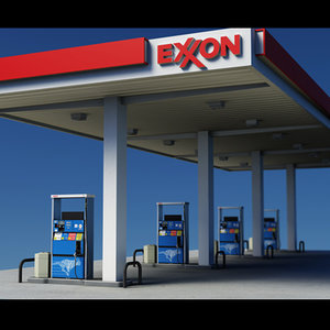 max gas pumps exxon