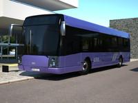 bus suburban liner 3d model