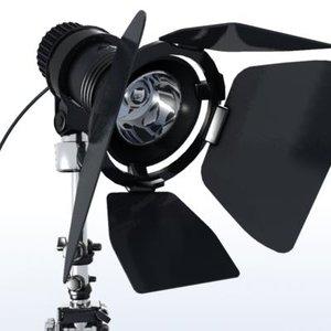 studio light agfa spotlight 3d model